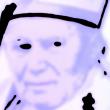 A.P. Astra - John Paul II, portrait - mixed media