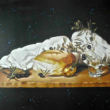 Angelos - Our basic food (genesis of the workd)- painting
