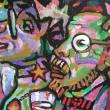 Goguadze - art critics, detail - painting