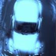 Heinz G. Mebusch - Moving, blue - conceptual chromogenic photo print