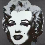 Andy Warhol - untitled, Marilyn Monroe, black - silkscreen