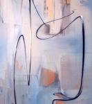 Joe Brockerhoff . Der Augenblick eines Peitschenschlags - painting