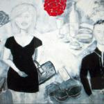 Ursula Reinsch - Cicolettas Herzklopfen - painting