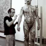 Vera Isler - Keith Haring Performance - photo print