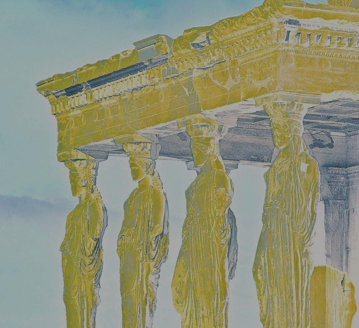 2013 09 Acropolis5 2 - Martin Müller - painting on digital print