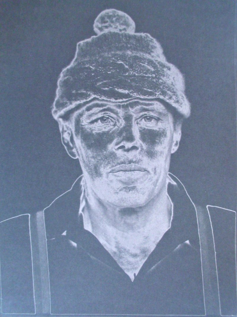 Heinz Günter Mebusch-Portrait of Beuys
