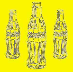 coke gelb 300x294 - A.P. Astra - The three Magi  (coke yellow)