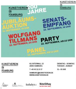 Wolfgang Tillmans Kunstverein Hamburg 200 Jahrfeier 258x300 - Wolfgang Tillmans - Kunstverein Hamburg 200 Jahrfeier