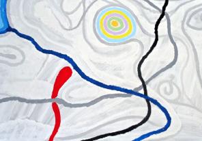 Albert Gogoudze o.T. Gemälde - Albert Gogouadze - o.T. - Gemälde