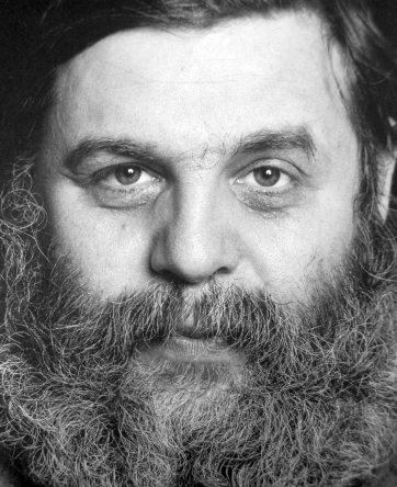 Heinz G. Mebusch-Portrait of AR Penck.