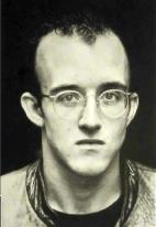 Heinz-Günter Mebusch-Portrait of Keith Haring
