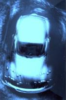 Heinz G. Mebusch Moving blue conceptual chromogenic photo print - Gallery