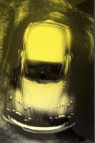 Heinz G. Mebusch Moving yellow conceptual chromogenic photo print - Gallery