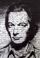 Heinz G. Mebusch Self portrait photo print mixed media - Gallery