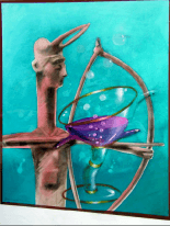 Heinz Zolper Zen painting - Heinz Zolper - Zen - painting