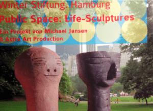 Jansen Astra Public Space Life Sculptures Ostrale Project NYC 300x217 - Jansen & Astra - Public Space, Life Sculptures - Ostrale, Project NYC