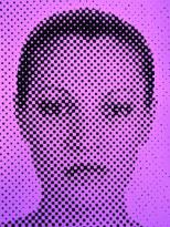 JCB Moore-SL-Purple Grid Face-chromogenic photo print