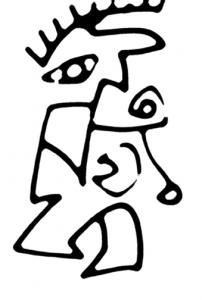 Mike Jansen Eronisches Hütchen Deer Man ArtForum Editions 202x300 - Gallery