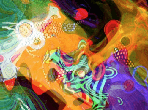 Mike Jansen Synapsis digital print - Mike Jansen - Synapsis - digital print