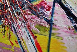 Norbert Winter o.T. detail painting - Norbert Winter - o.T., detail - painting