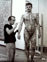 Vera Isler Keith Haring Performance photo print - Gallery