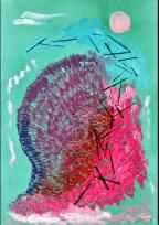Walter Lindgens Treibgut painting assemblage - Gallery