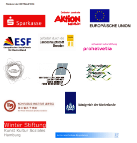 Winter Stiftung supporter of Ostrale - Winter Stiftung - supporter of Ostrale