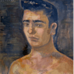 Yannis Tsarouchis - Portrait of a young man - painting