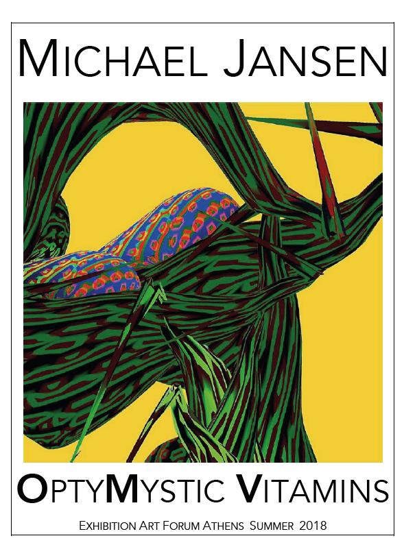 Winter Jansen Poster 2018 Athen - Michael Jansen: OptiMystic Vitamins