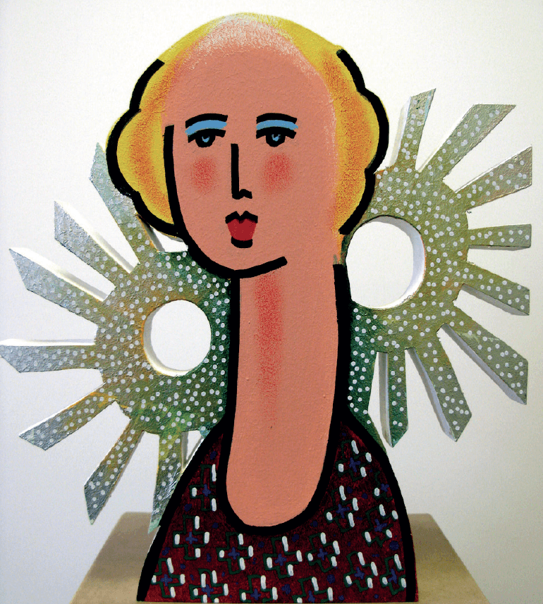 Zolper, Dame mit Sonnen