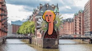 Zolper Dame Skulptur Speicherstadt Hamburg Entwurf 300x169 - Zolper: Suggestion not only for International Women's Day